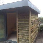 Sauna gemaakt Eelderwolde